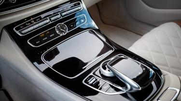 Mercedes E-Class - centre console