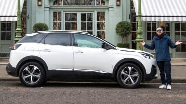 Peugeot 3008 long-term test - side