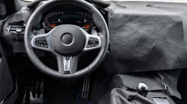 New BMW 3 Series pre-production review - steering wheel