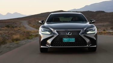 Lexus LS 500h - full front