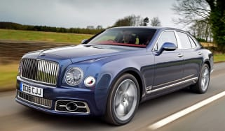 Bentley Mulsanne Speed 2017 - front tracking