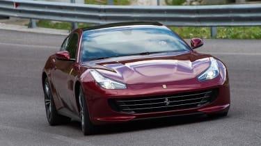 Ferrari GTC4 front - Footballers' cars
