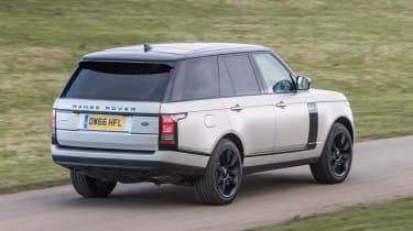 Used Range Rover - rear action