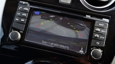 Nissan Note - screen
