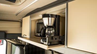 MAN truck coffee machine