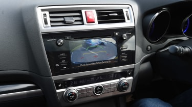 Subaru Outback - long term test final report reversing camera