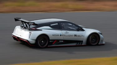 Nissan Leaf Nismo RC - rear action