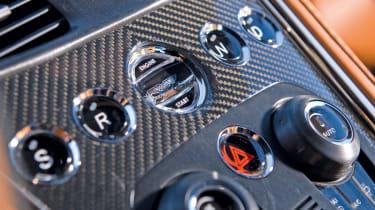 Aston Martin One-77 interior detail