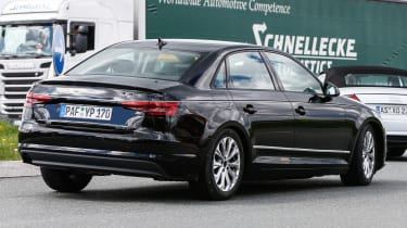 New Audi A4 2015 spy shots 2