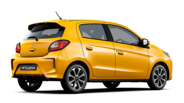 Mitsubishi Mirage - studio rear