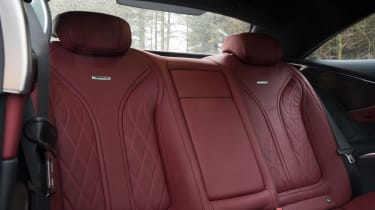 Mercedes-AMG S 63 Coupe - rear seats