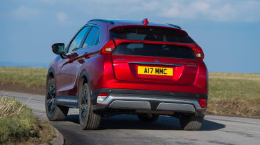 Mitsubishi Eclipse Cross First Edition - rear cornering