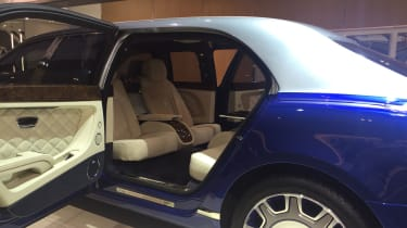 Bentley Mulsanne Grand Limousine by Mulliner rear