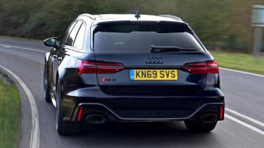 Audi RS 6 - full rear