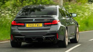 BMW M5 CS - rear cornering