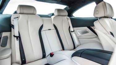 Used BMW 6 Series - rear seats
