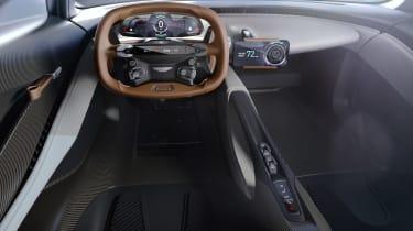 Aston Martin 003 concept - dash