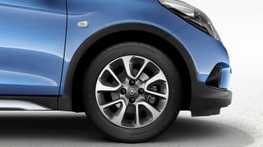 Opel Karl Rocks crossover detail