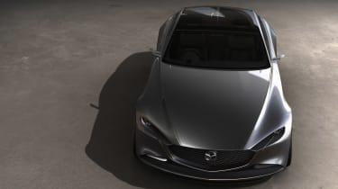 Mazda Vision Coupe concept - above