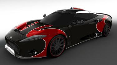 Spyker C8 Aileron - header