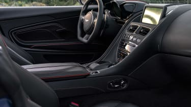 Aston Martin DBS Superleggera Volante - front seats