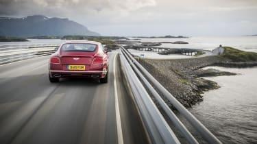 Bentley Contintental GT Speed 2015 rear