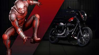Harley Davidson Marvel Super Hero Customs - Ant Man Heart