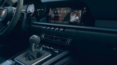 Porsche 911 GTS - interior