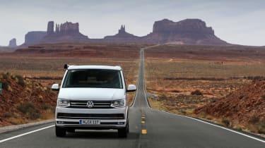 Volkswagen California head on