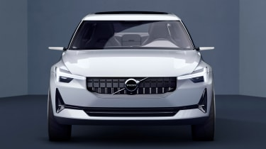 Volvo 40.2 Concept (Volvo V40 2018) full front