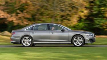 Audi A8 - side