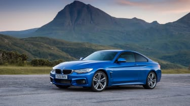 BMW 4 Series 420d M Sport static