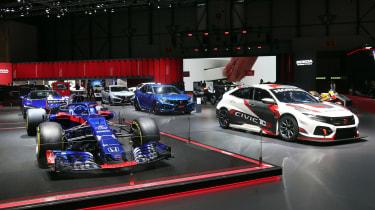 Honda stand - Geneva 2019
