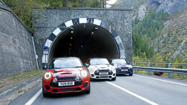 The Italian Job - tunnel exit