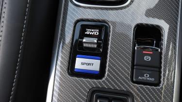 Mitsubishi Outlander PHEV - power modes