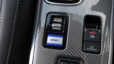 Mitsubishi Outlander PHEV - power modes