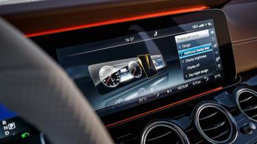 Mercedes E-Class - infotainment screen