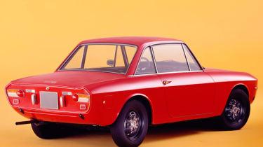 Lancia Fulvia rear