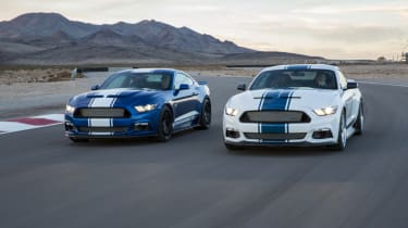 Shelby Mustang Super Snake duo dynamic