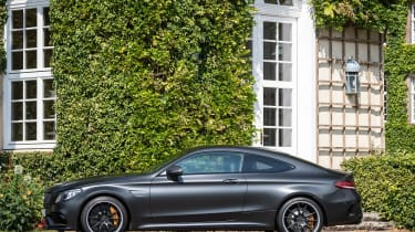 Mercedes-AMG C 63 S Coupe - side static