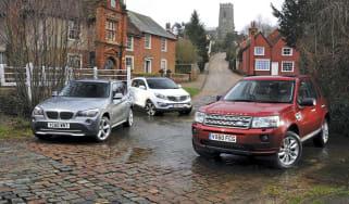 2WD Freelander vs. rivals