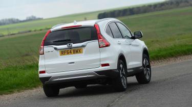 Honda CR-V 1.6 diesel auto action rear