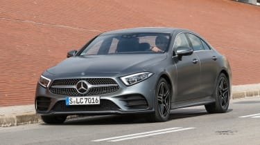 Mercedes CLS 400 d - front tracking