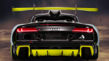 Audi R8 LMS GT2 - full rear