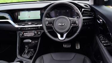 New Kia Niro Hybrid - dash