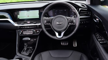 New Kia Niro Hybrid - dash