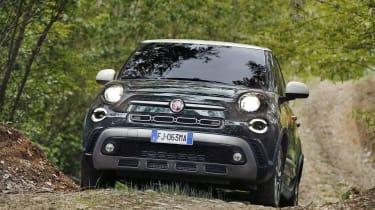 Fiat 500L - front off-road