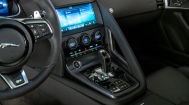 Jaguar F-Type - centre console