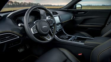 Jaguar XE and XF launched - interior
