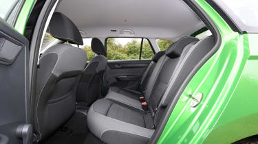 Skoda Fabia Estate -Rear Seats